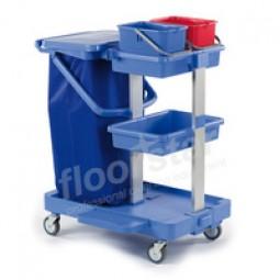 Putzwagen 2 - Kunststoff (ohne Sack)