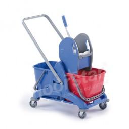 Doppelfahrwagen - Kunststoff mit Deichsel