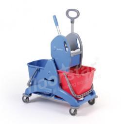 Doppelfahrwagen - Kunststoff mit Schiebegriff