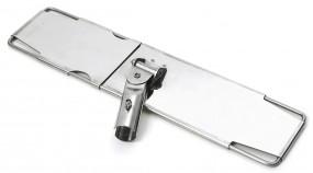 Edelstahl Halter für Flachpresse 40 cm mit unten geschlossener Platte