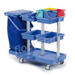 Putzwagen 4 - Kunststoff (ohne Sack)