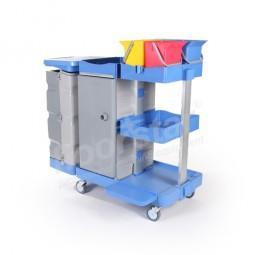 Putzwagen 4 Tresor - Kunststoff